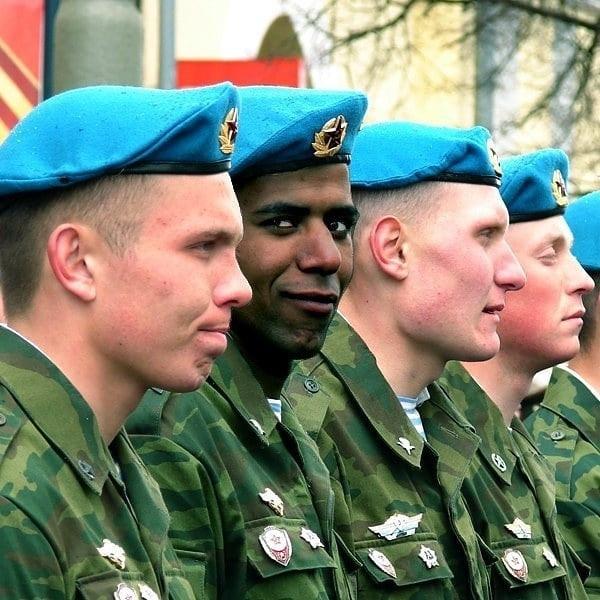 خارجیان در ارتش روسیه