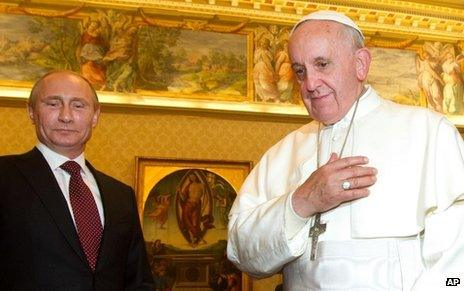 تاخیر ولادیمیر پوتین در ملاقات با مقامات دنیا